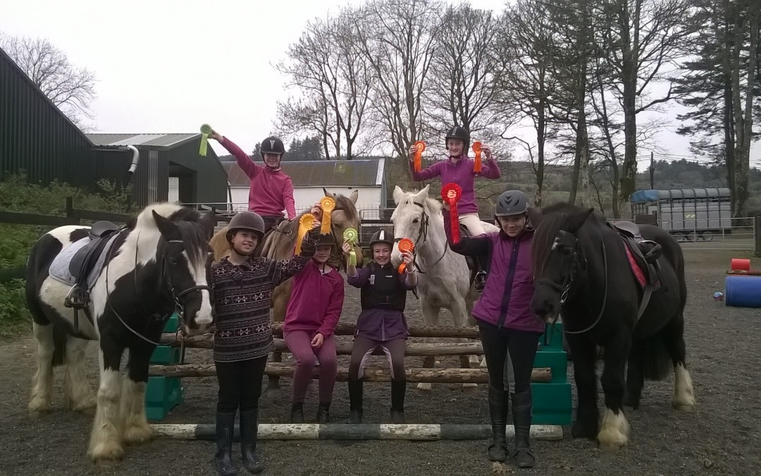 Dromquinna riders won at Bantry Showjumping